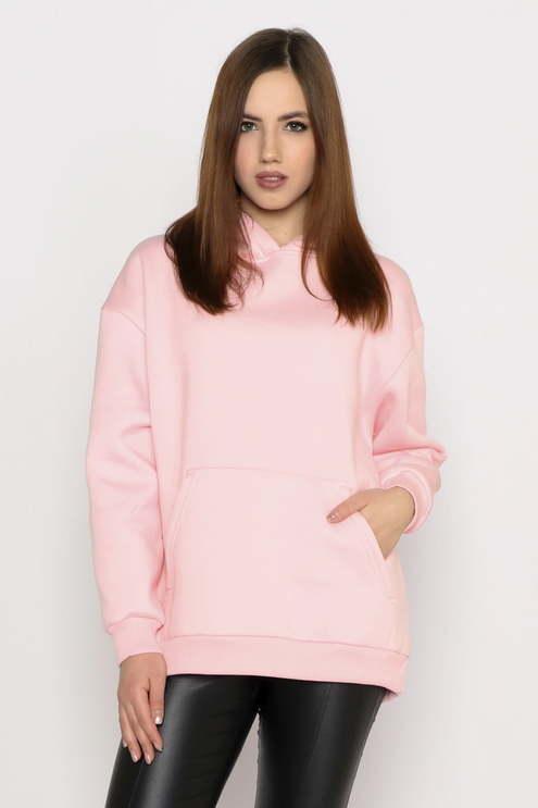 """Джемпер """"Oversize"""", розовый"""